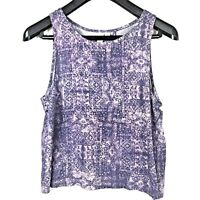 Urban Outfitters Others Follow Womens M Tank Top Crop Open Back Aztec Boho Med