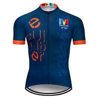 2020 Pro Cycling Jersey Short Sleeve Quick Dry MTB Team Riding Bike Racing Shirt