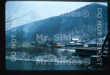 Original Slide WA&G Wellesville Addison & Galeton F7A 2200 Action In 1975