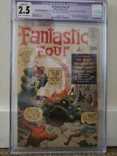 Fantastic Four #1 CGC 2.5 (Restoration) Marvel Comics 11/61 1st App