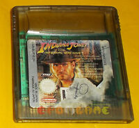 INDIANA JONES AND THE INFERNAL MACHINE Game Boy Color ○○○○○ SOLO CARTUCCIA