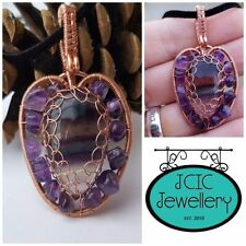 Copper Natural Stone Costume Necklaces & Pendants