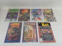 Lot of 7 Assorted DC Comic Books Batman Green Lantern Predator Warlord  Heckler