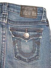 True Religion Girls Jeans Billy Flap Pocs Distressed w Stretch Sz 12