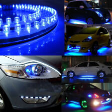 Blue 24cm 24LED PVC Flexible LED Strip Light Waterproof for Car Motorcy zi