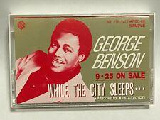 George Benson When The City Sleeps Japan PROMO Cassette Tape PSC-96
