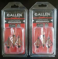 "Allen Lightning Broadhead 1 1/16 Cutting Diameter - ""2 Pack"""