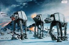 Star Wars Poster AT-AT Fighter - Premium Filmplakat Querformat 91,5 x 61 cm NEU