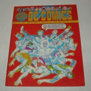 AMAZING WORLD of DC COMICS MAGAZINE April 1976 # 11 SUPER VILLAINS ISSUE SPECIAL