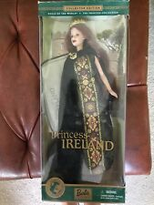 s Of The World Princess Of The Ireland 2001 Barbie Doll