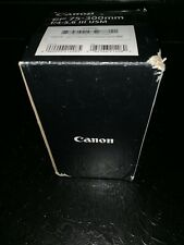 Brand New: Canon EF 75-300mm f/4-5.6 III Telephoto Zoom Lens for Canon SLR