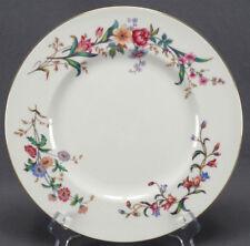 Set of 4 Wedgwood Bone China W4076 Devon Sprays Dinner Plates C. 1945 - 1962