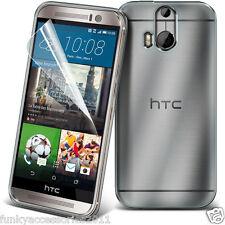 Ultra Slim Transparente Choque Protección Gel Piel Teléfono Funda ✔ HTC One M9s