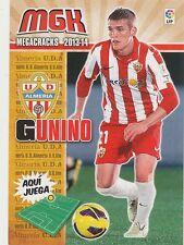 N°003 JAVIER GUNINO DUQUE # URUGUAY UD.ALMERIA CARD PANINI MGK LIGA 2014