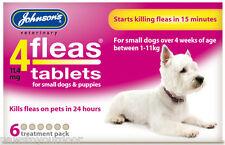 Johnsons 4fleas comprimés petit chien 6 Pack de traitement puces comprimés