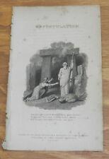1817 Antique Print/EXPOSTULATION/Table Talk