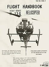 BELL H-13G SIOUX ( MODEL 47 ) HELICOPTER / TO 1H-13G-1