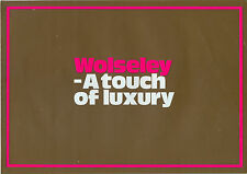 Wolseley 1300 18/85 18/85S 1971 UK market sales brochure