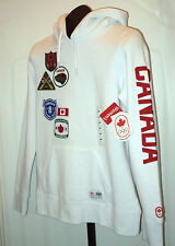 London 2012 Olympic Team CANADA HBC Womens SM White Pullover Hoodie New W tags