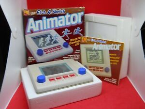 Original Etch a Sketch ANIMATOR Toy Complete NON WORKING Complete Box and Manual