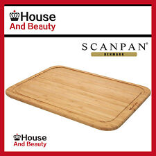 NEW Scanpan Bamboo Cutting Board 42cm x 29cm x 1.8cm! (RRP $44)