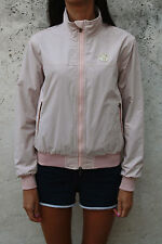 LUCE Sails NS North Rosa Windrunner Giacca Pioggia Giacca a vento donna S UK 10 BUONO