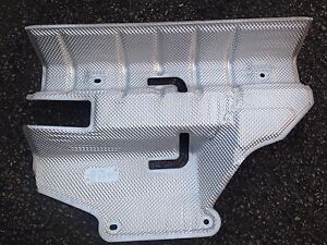 MG ZT ROVER 75 SPARE WHEEL - EXHAUST HEAT SHIELD WEB101692