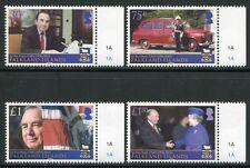 FALKLAND 2013 Sir Rex Hunt Politik QE II Flagge ** MNH