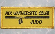 AIX UNIVERSITE CLUB JUDO Patch - Martial Arts