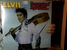 Elvis Rockin' Rebel 1978 Golden Archives Ga-250 Import Lp Factory Sealed New