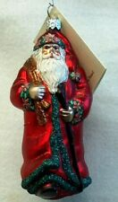 "Patricia Breen ""Wayfaring Santa"" 2001, Commissioned by Historical Christmas Barn"