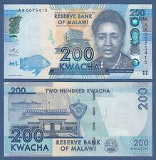 MALAWI  200 Kwacha 2013  UNC   P. 60 b