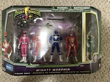 MIGHTY MORPHIN Power Rangers  WALMART Exclusive Figure SET (5-Figures) 2010