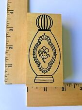 Me and Carrie Lou Rubber Stamps - PERFUME BOTTLE - NEW