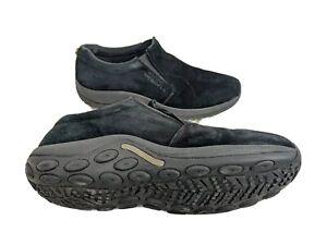 Merrell Mens US 14 Midnight Black Sueded Slip On Loafer J60825