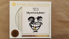 Avenue Gold 24KT.Gold CD-War-Why Can't We Be Friends-Mint/Flawless (not MFSL)