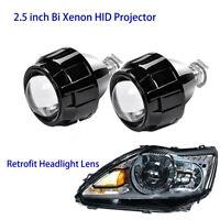 NEW Super FX-R 2.5 Inch Clear Lens Bi-XENON HID D2S Bulb Projectors Retrofit