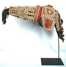 Art Africain - Imposant Masque Dan Pacificateur - Avec Socle sur Mesure - 80 Cms