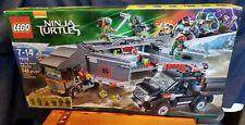 MUST SEE Lego TMNT 79116- Big Rig Snow Getaway RARE 100% Sealed BRAND NEW! (OOP)