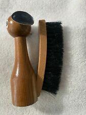 Vintage Wooden Dog Clothing Brush Shoe Brush Made in Japan