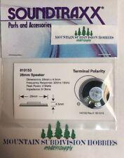 """Soundtraxx 810153 1"""" Round Speaker (28mm) 8 ohm 1 Watt  MODELRRSUPPLY   $5 Offer"""