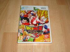 Dragon Ball Z Budokai Tenkaichi 3 (sin manual) Nintendo Wii