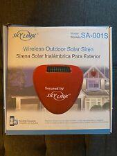 SkyLink Wireless Outdoor Solar Siren Model SA-011S