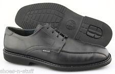 Men's MEPHISTO 'Gaetan' Black Leather Oxfords Size US 11.5 EUR 11