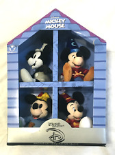 Disney Store Legendary Mickey Mouse Studio Collection Mini Plush Box RARE