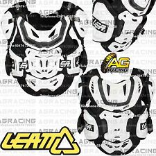 Leatt Adult 5.5 Pro HD White Chest Back Shoulder Flank Protector Armour 70-85kg