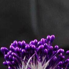 40 Purple Double Ended Flower Stamen 3 mm (1/8 inch) Wide