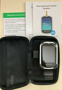 OneTouch Verio Blood Glucose Monitor, Case, Guide ONLY