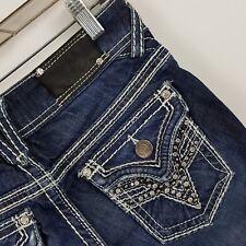 Vigoss The New York Boot Cut Women's Dark Wash Blue Jeans Size 1/31 - 27 x 31