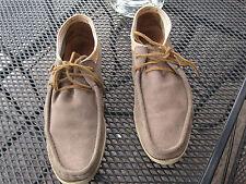coole Marc O`Polo Herren Leder Wildleder Schuhe Boots beige Gr. 45